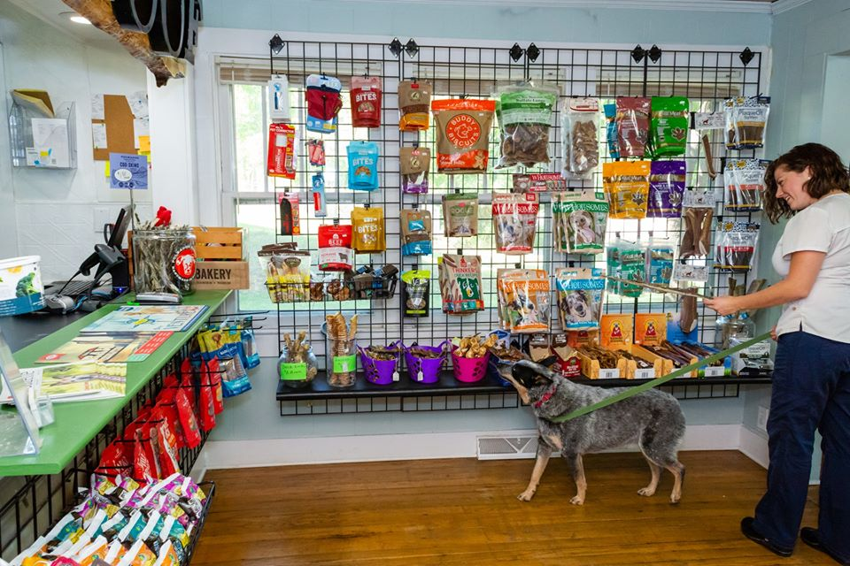 Pet Store for Dogs - Woof in the Woods located at Fairview, NC